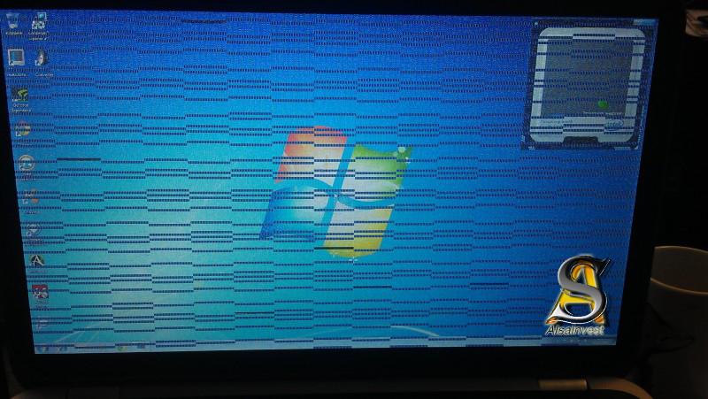при включении видеокарты виснет комп с черным экраном